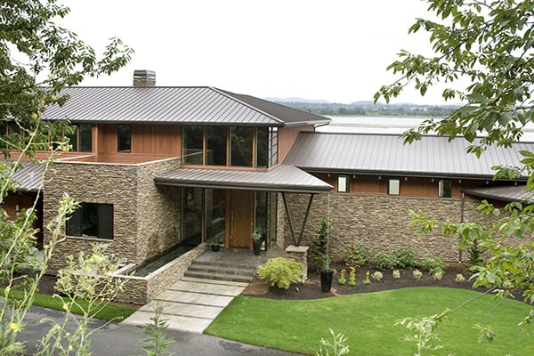 featured posts image for Light and airy contemporary lake house in Portland: The Aurea