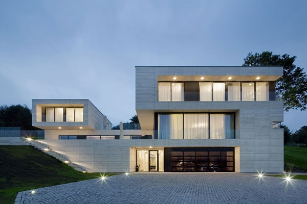 featured posts image for Incredible modern dwelling in the countryside: Villa in Děčín