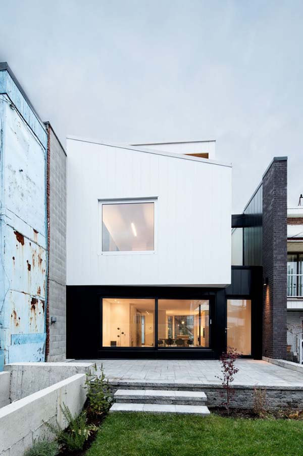 featured posts image for Live/work house in Montreal filled with natural light by NatureHumaine