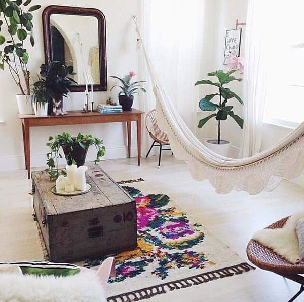 Bohemian Chic Living Rooms-06-1 Kindesign