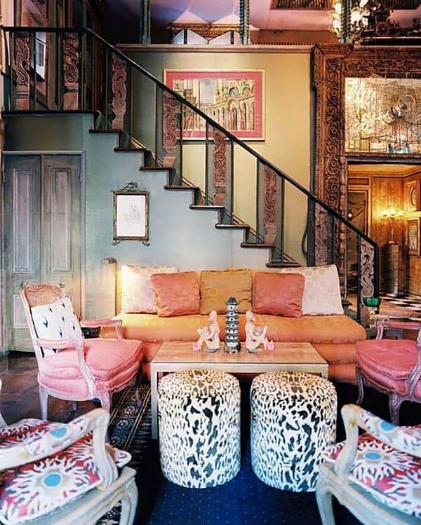 Bohemian Chic Living Rooms-18-1 Kindesign
