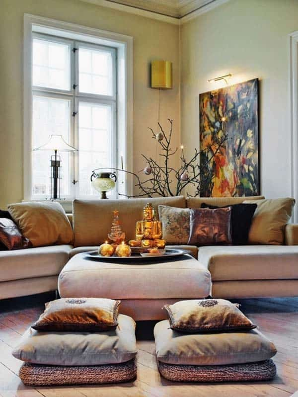 Bohemian Chic Living Rooms-24-1 Kindesign