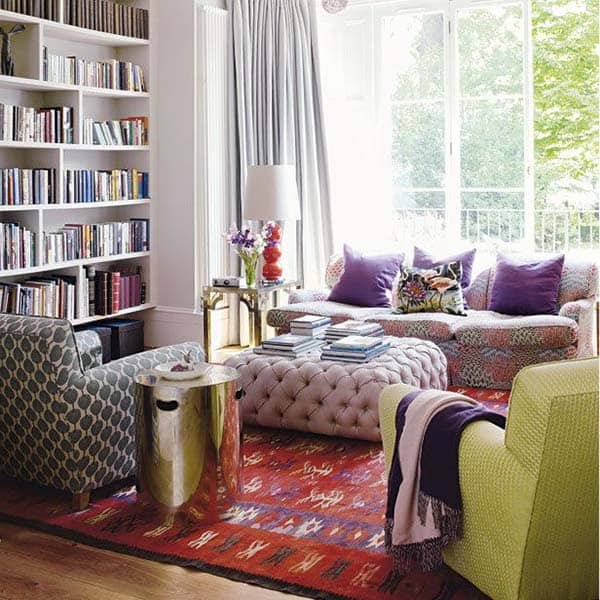 Bohemian Chic Living Rooms-28-1 Kindesign