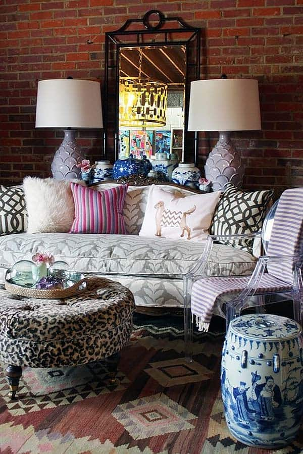 Bohemian Chic Living Rooms-30-1 Kindesign