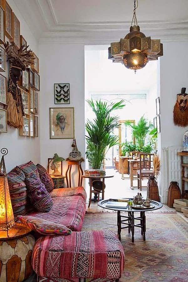 Bohemian Chic Living Rooms-34-1 Kindesign
