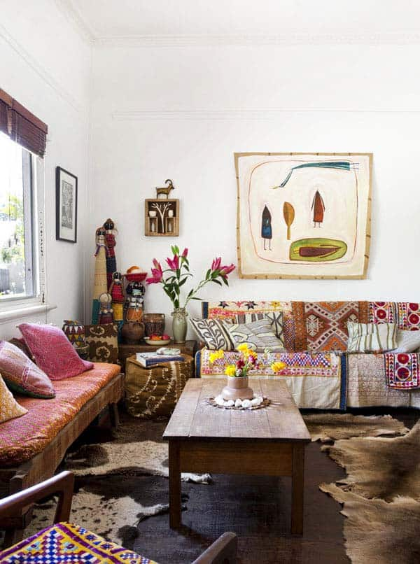 Bohemian Chic Living Rooms-44-1 Kindesign