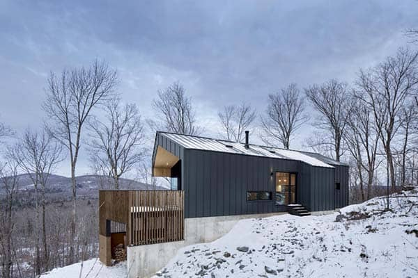 featured posts image for Contemporary country house in Quebec by NatureHumaine