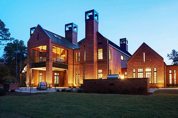 featured posts image for Magnificent Chancellor's Residence in North Carolina by Rufty Homes