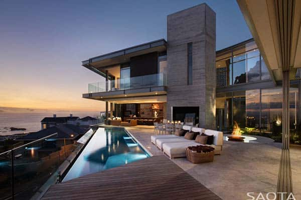 featured posts image for Luscious SAOTA designed residence in South Africa: Clifton 2A