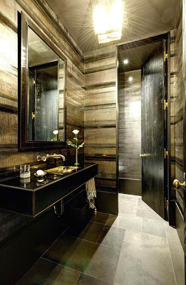 Dark and Moody Bathrooms-12-1 Kindesign