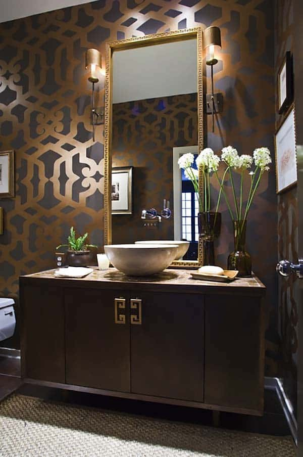 Dark and Moody Bathrooms-35-1 Kindesign