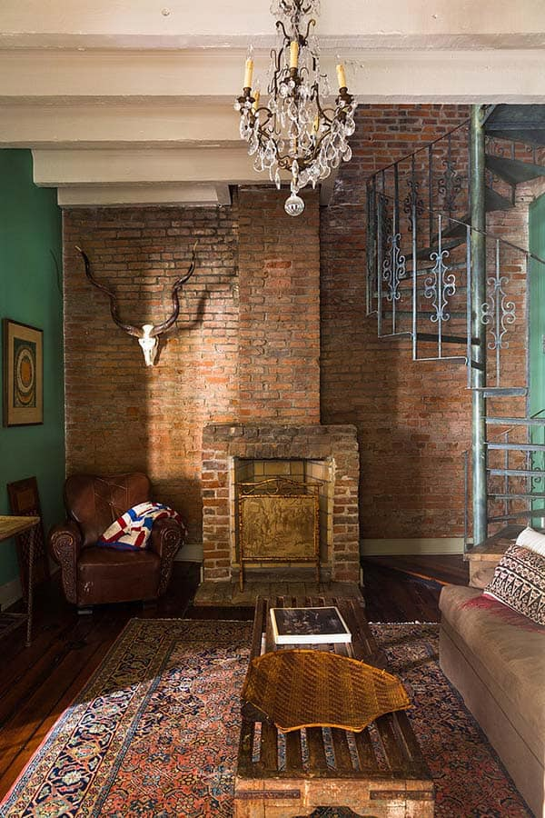featured posts image for Restoration of Eclectic French Quarter Pied-a-Terre in New Orleans