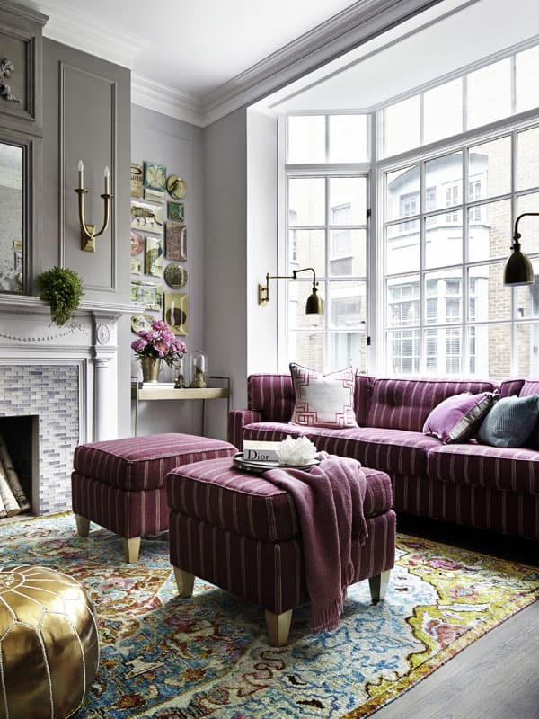 featured posts image for Bright and colorful Greenwich Street townhouse with fresh interiors