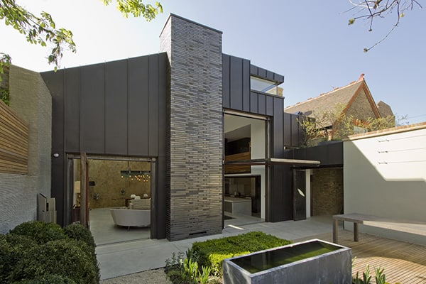 featured posts image for Black zinc and glass home with industrial edge: House Little Venice