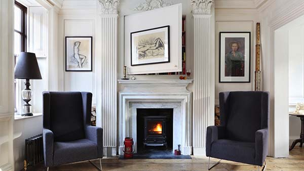 featured posts image for Historic home transformation with eclectic interior in London