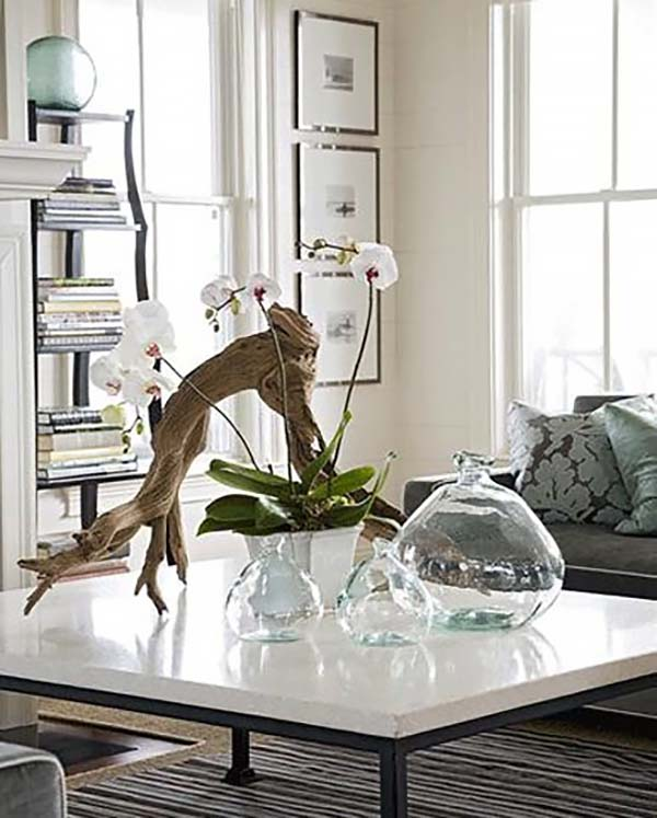 54 Nature Inspired Ideas For Infusing Driftwood Into Your Home
