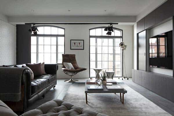featured posts image for Contemporary warehouse apartment in the heart of Soho, London