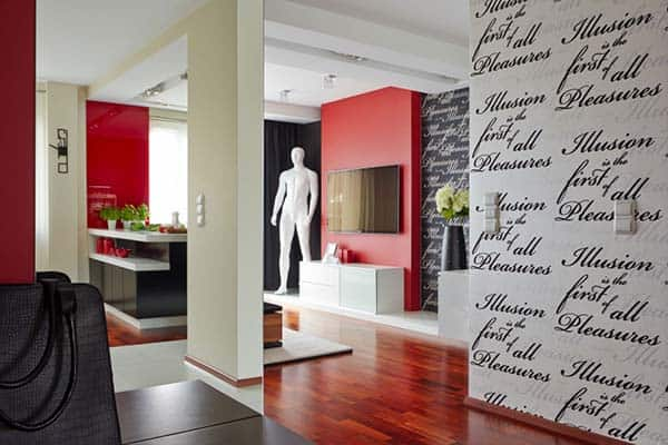 featured posts image for Modern apartment displaying an artistic flare by Widawscy Studio