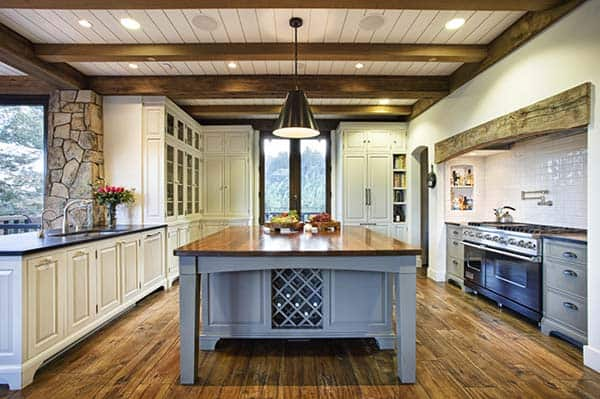 Mountain Lodge Eclectic-Michael Rex Architects-03-1 Kindesign