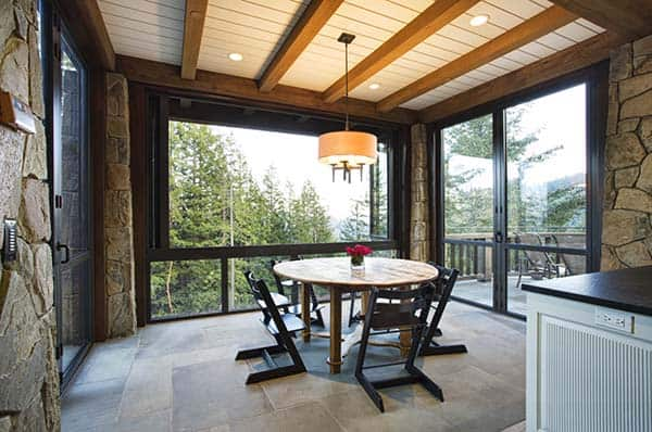 Mountain Lodge Eclectic-Michael Rex Architects-04-1 Kindesign