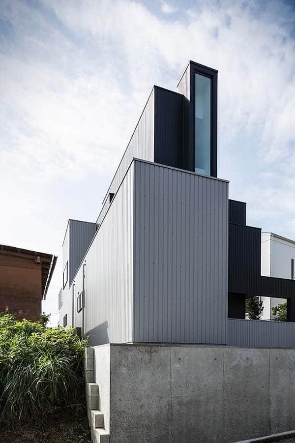 Scape House-Form-Kouichi Kimura Architects-02-1 Kindesign