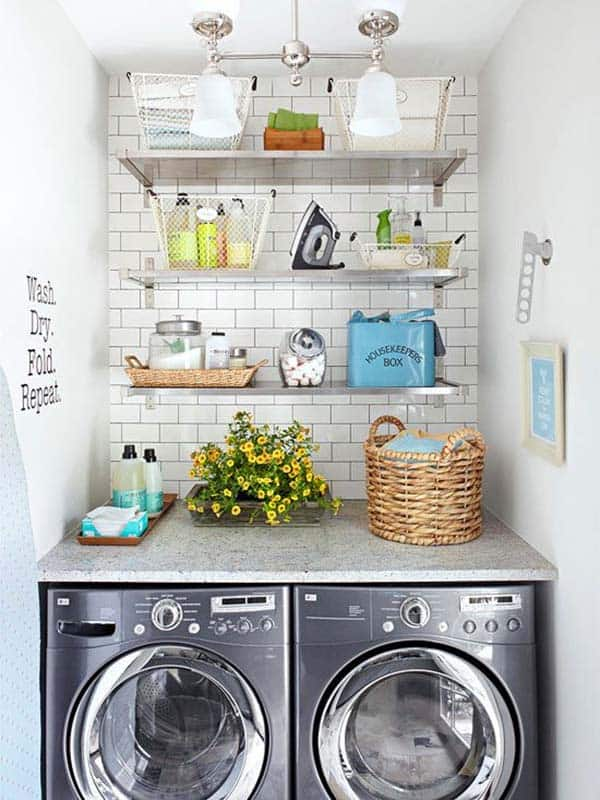 Small Laundry Room Design Ideas 02 1 Kindesign