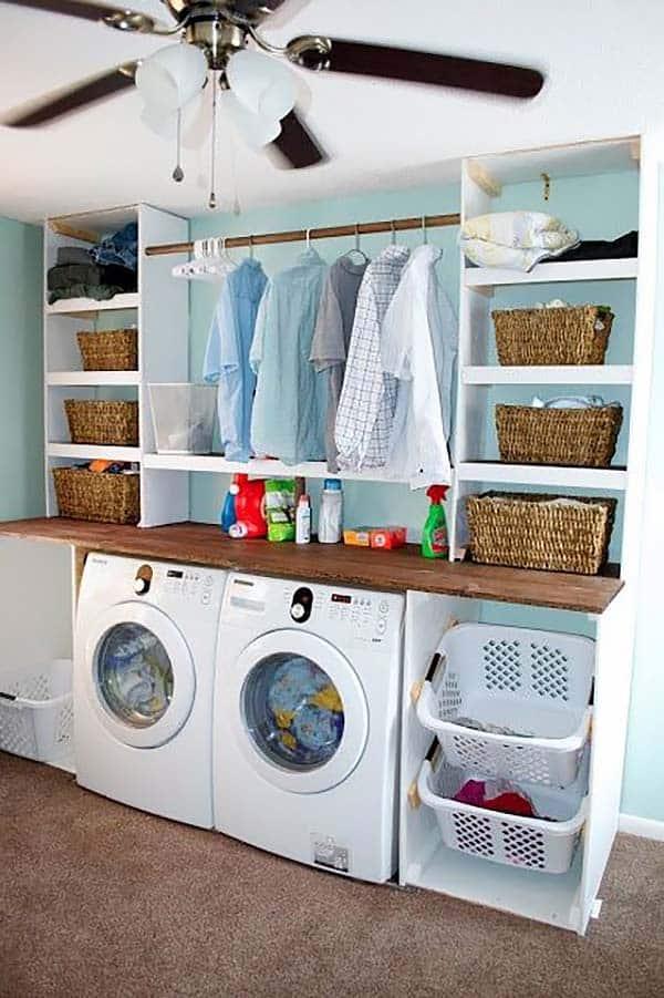 Design Room Layout Online: 60 Amazingly Inspiring Small Laundry Room Design Ideas