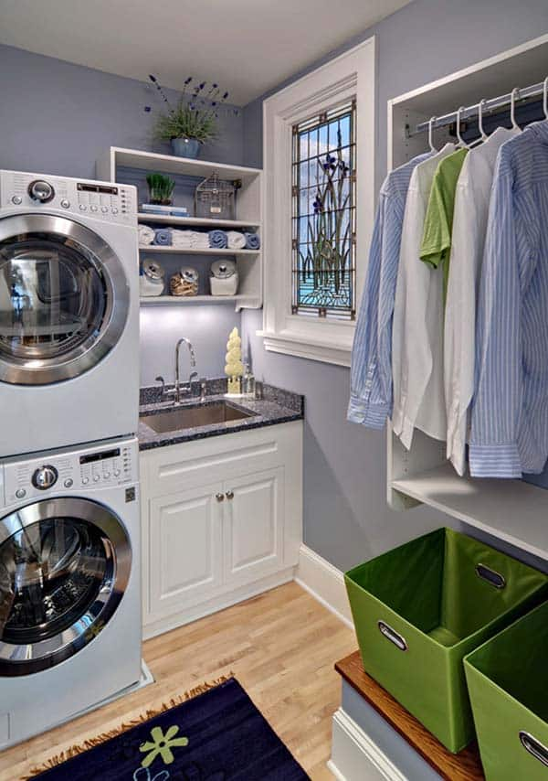 Small Laundry Room Design Ideas-10-1 Kindesign