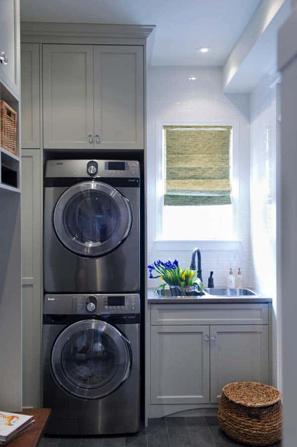 Small Laundry Room Design Ideas-11-1 Kindesign