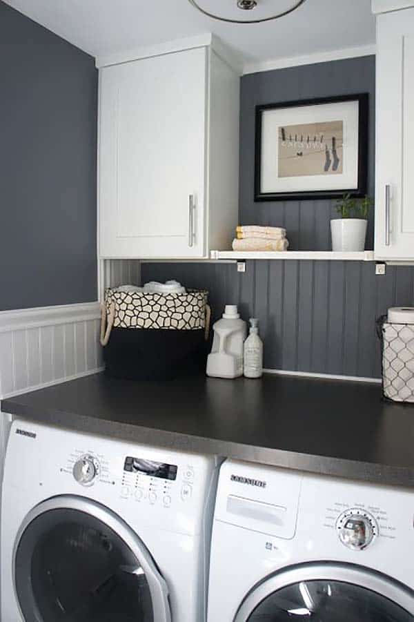 Small Laundry Room Design Ideas-16-1 Kindesign