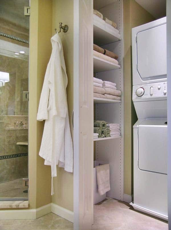 Small Laundry Room Design Ideas-22-1 Kindesign
