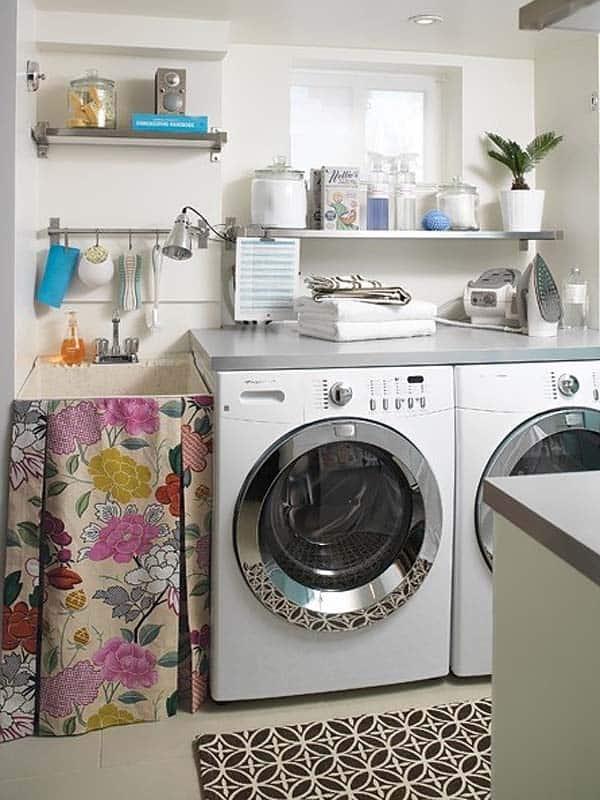 60 Amazingly inspiring small laundry room design ideas on Small Laundry Ideas  id=66570
