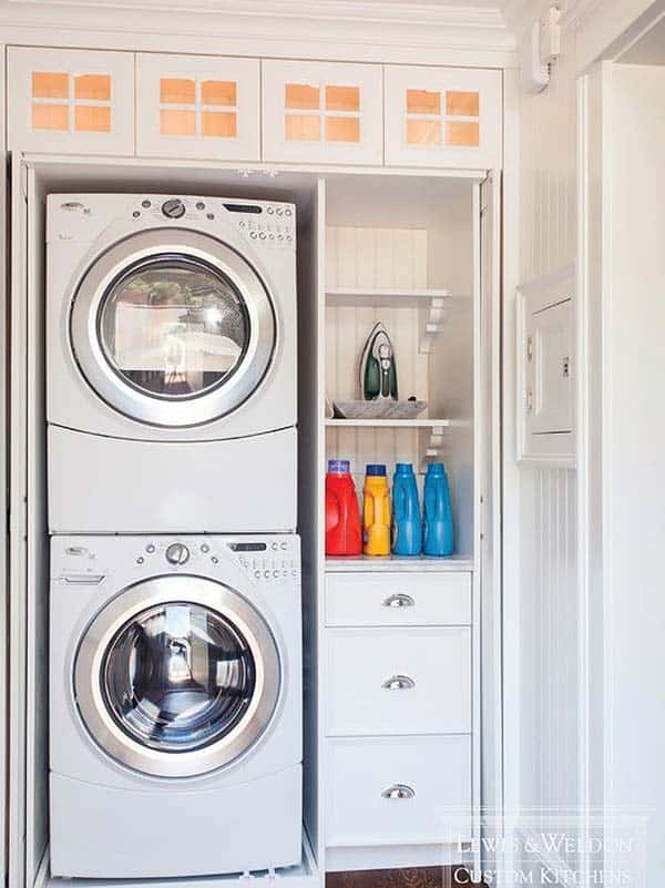 Small Laundry Room Design Ideas-29-1 Kindesign