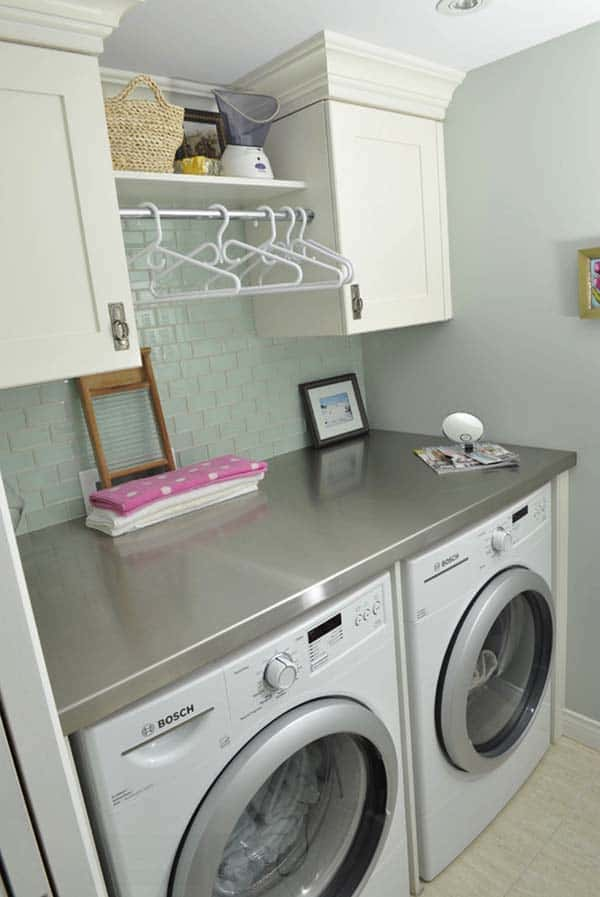 Small Laundry Room Design Ideas-30-1 Kindesign