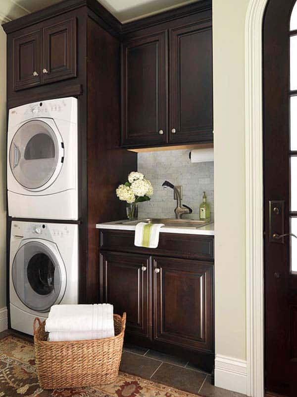 Small Laundry Room Design Ideas-31-1 Kindesign