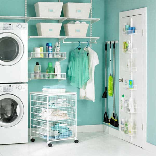 Small Laundry Room Design Ideas-33-1 Kindesign
