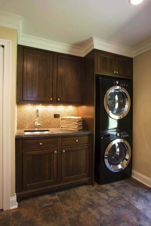 Small Laundry Room Design Ideas-39-1 Kindesign
