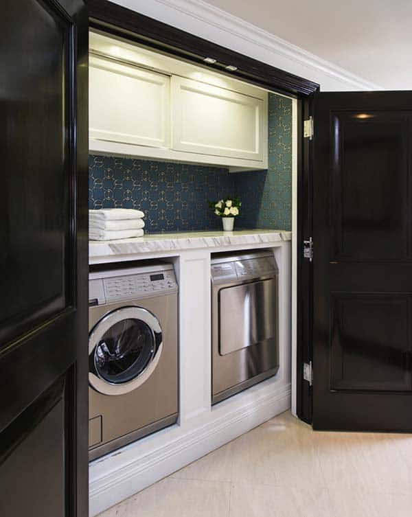 Small Laundry Room Design Ideas-40-1 Kindesign