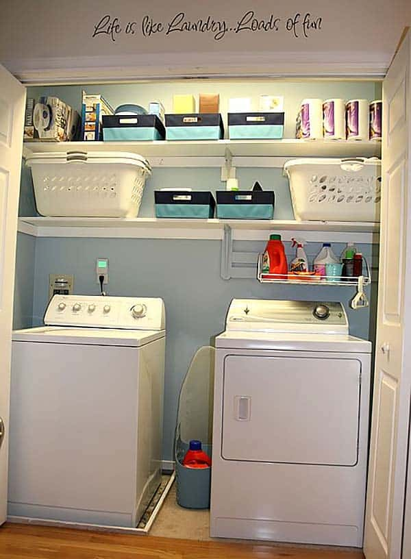 60 amazingly inspiring small laundry room design ideas Laundry Area Ideas
