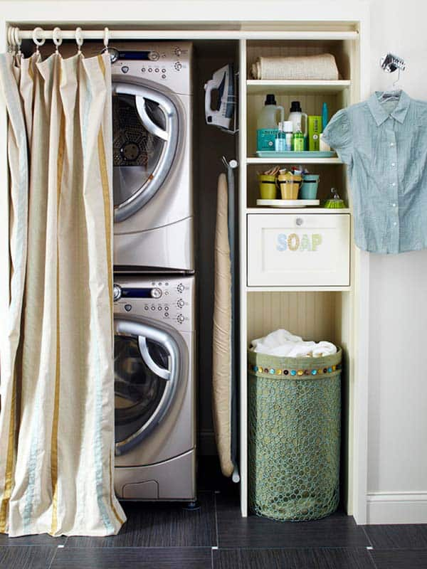 Small Laundry Room Design Ideas-50-1 Kindesign