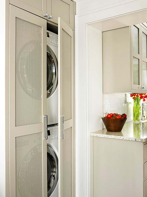 Small Laundry Room Design Ideas-54-1 Kindesign