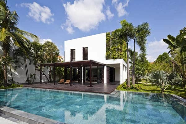 featured posts image for Contemporary villa connected to nature in Vietnam: Thao Dien House