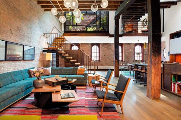 Tribeca Loft-Andrew Franz Architect-01-1 Kindesign