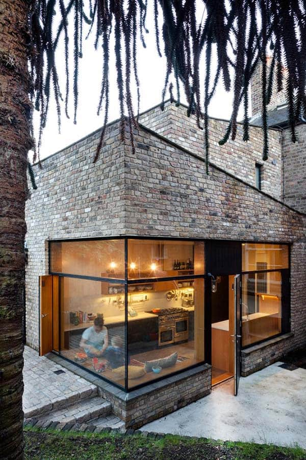 featured posts image for Contemporary brick addition in Ranelagh by NOJI Architects
