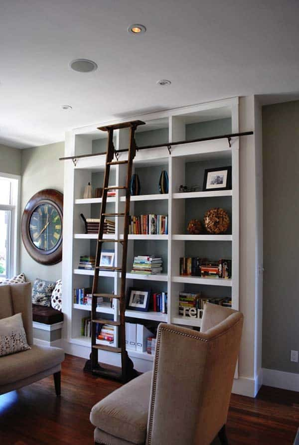Fascinating Bookshelf Ideas-04-1 Kindesign