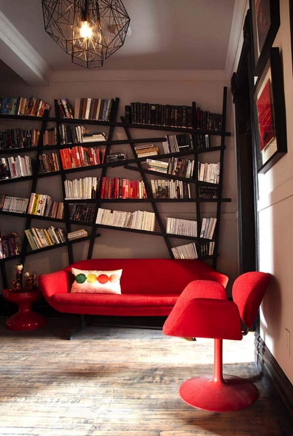 Fascinating Bookshelf Ideas-07-1 Kindesign