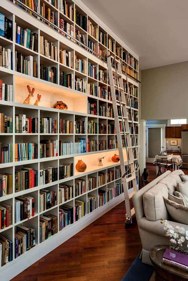 Fascinating Bookshelf Ideas-13-1 Kindesign