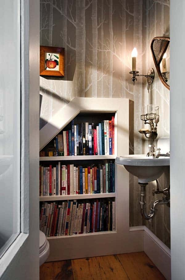 Fascinating Bookshelf Ideas-19-1 Kindesign