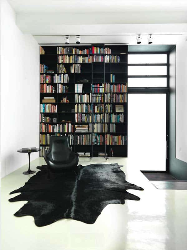 Fascinating Bookshelf Ideas-20-1 Kindesign