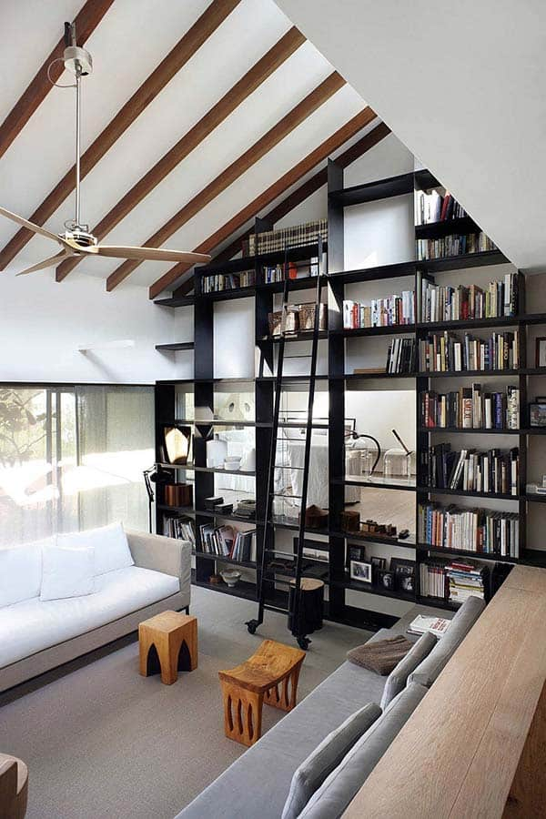 Fascinating Bookshelf Ideas-22-1 Kindesign